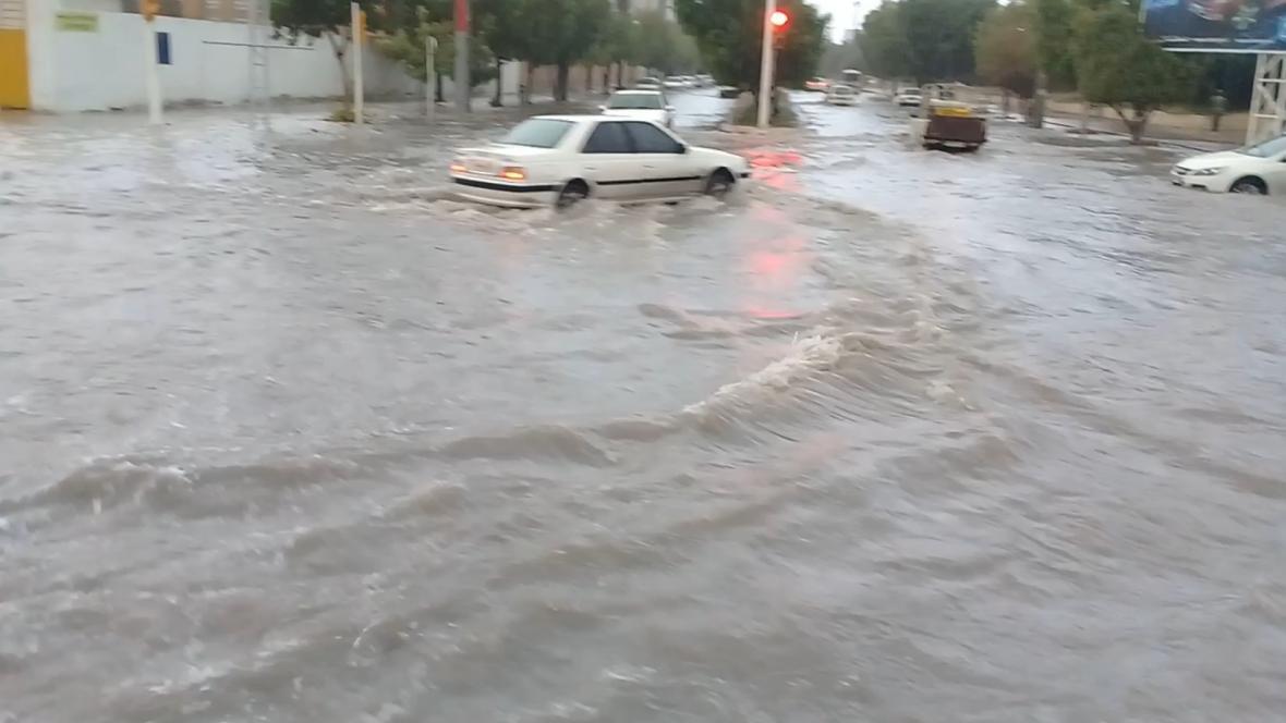 آسمان بوشهر دوباره بارانی می گردد