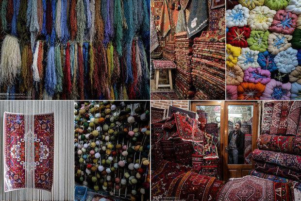 سالانه 21 هزار مترمریع فرش و گبه در استان تولید می شود