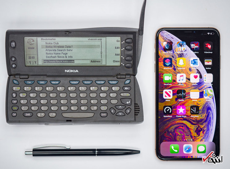21 سال پیش گوشی های هوشمند چه شکلی بودند؟!