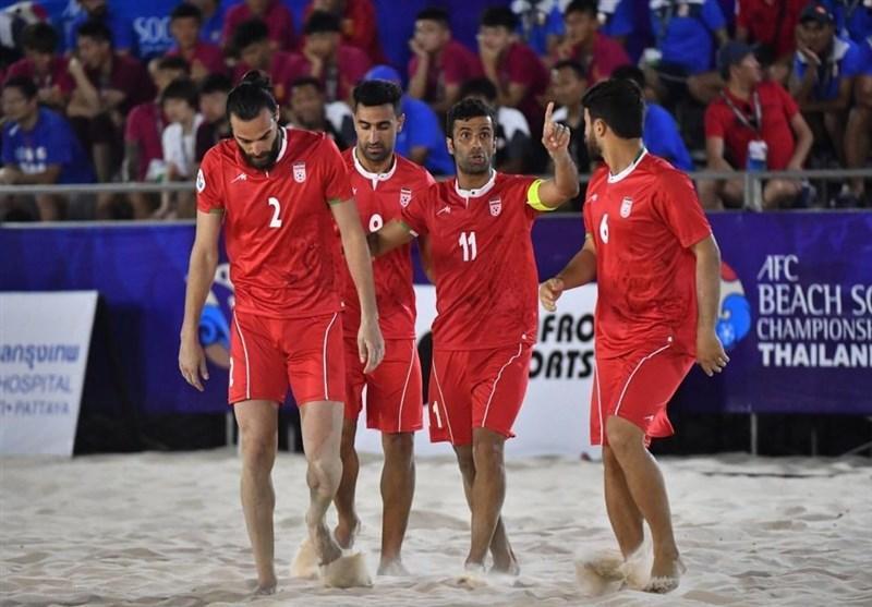 همگروهی ایران با پاراگوئه، سنگال و اوکراین در بازی های جهانی ساحلی، هاشم پور: همه تیم ها برای ما احترام قائلند