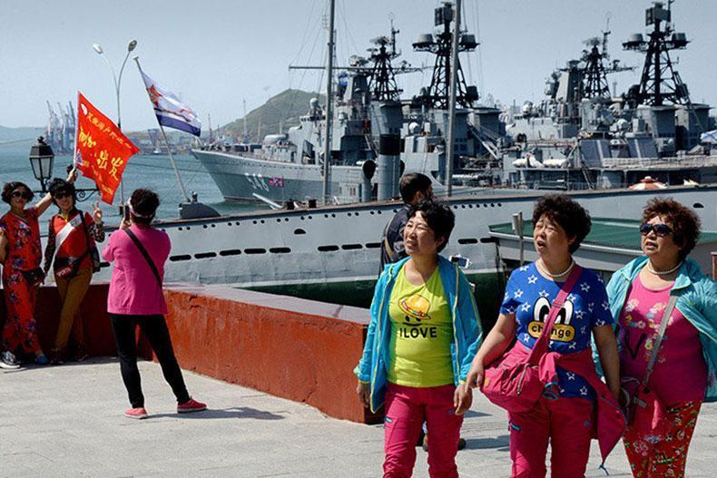 سفر چینی ها به روسیه 65 درصد افزایش یافته است