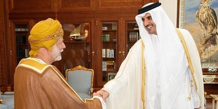 وزیر خارجه عمان و فرستاده امیر کویت با امیر قطر دیدار کردند