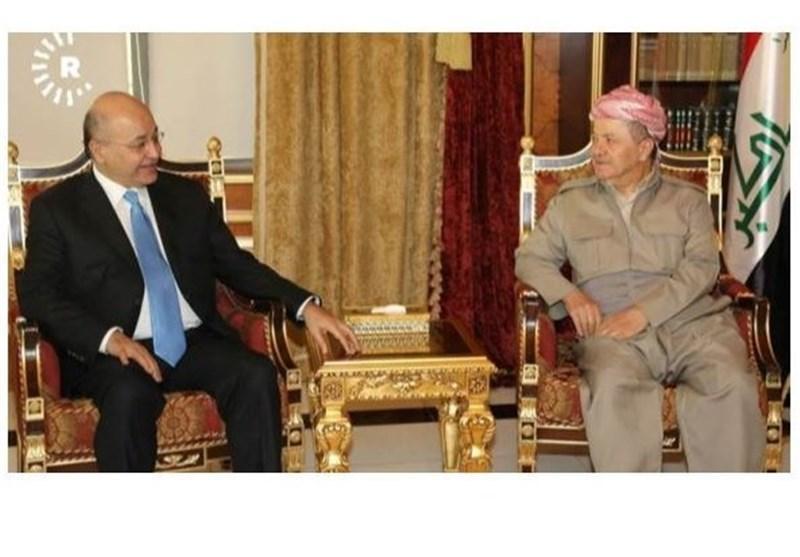 سفر مقامات بغداد به اربیل؛ خواسته های بارزانی محقق می گردد؟