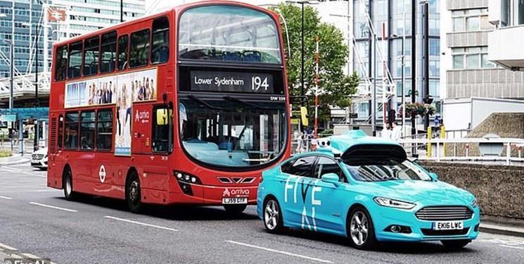 نخستین تاکسی خودران در انگلیس