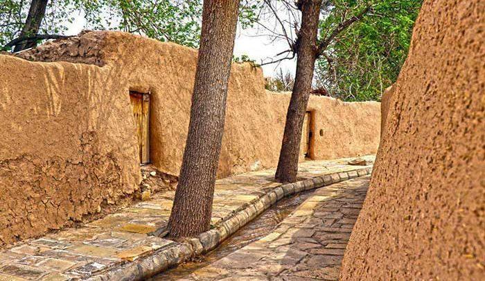 بازسازی کوچه باغ ها در سمنان