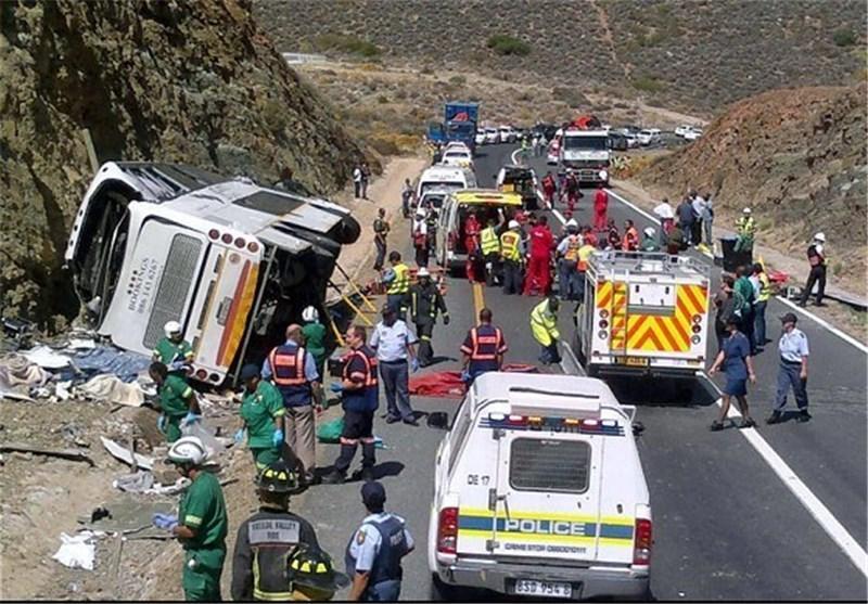 18 کشته و 14 زخمی در حادثه تصادف در عمان