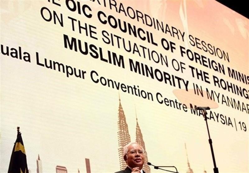 نخست وزیر مالزی خواهان توقف کشتار مسلمانان روهینگیا توسط میانمار شد