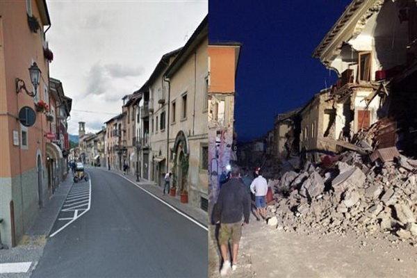 زلزله 7.1 ریشتری ایتالیا را لرزاند