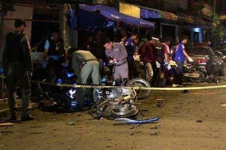 انفجار بمب در مناطق مسلمان نشین تایلند