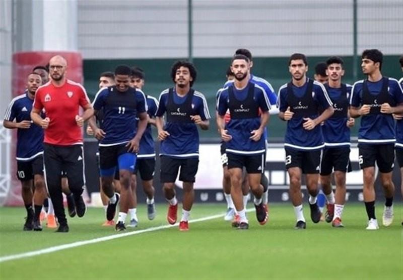 اعضای تیم فوتبال جوانان امارات وارد تهران شدند