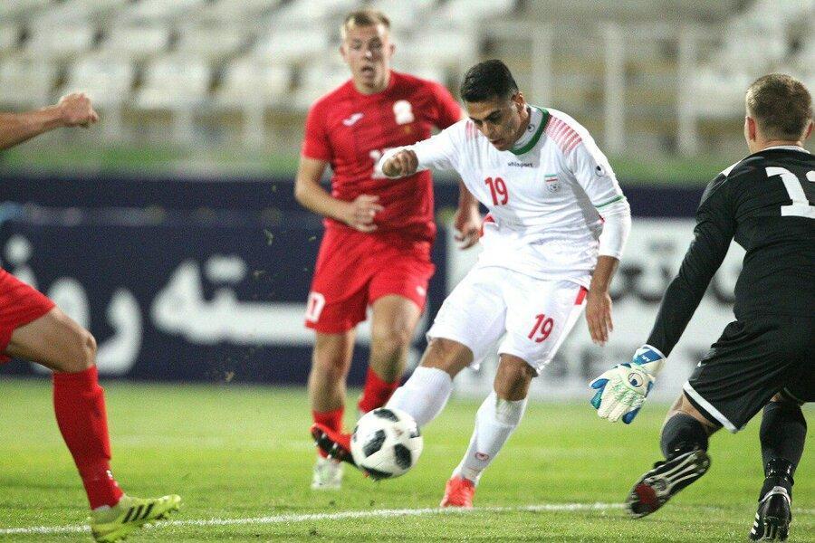 پیروزی باارزش جوانان ایران مقابل قرقیزستان در مقدماتی قهرمانی آسیا