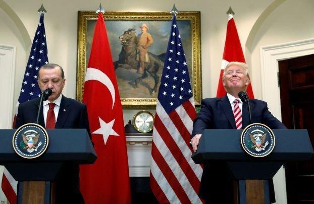 چشمه صلح موضوع بحث ترامپ و اردوغان