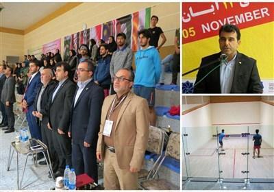 مسابقات بین المللی اسکواش حرفه ای مردان دنیا در ارومیه شروع شد