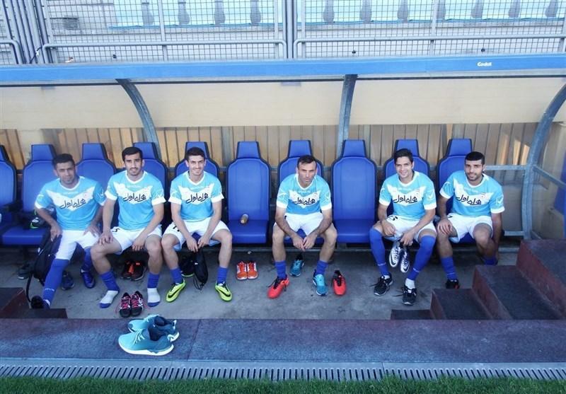 ریکاوری ملی پوشان در کمپ اصلی تیم ملی ایتالیا
