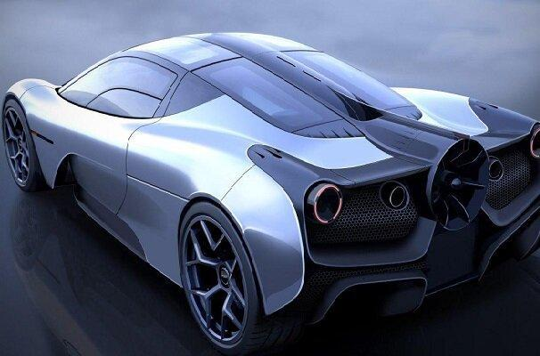 آیرودینامیک ترین خودروی جهان فراوری شد