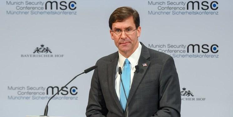 اسپر: چالش امنیتی ما چین است نه روسیه