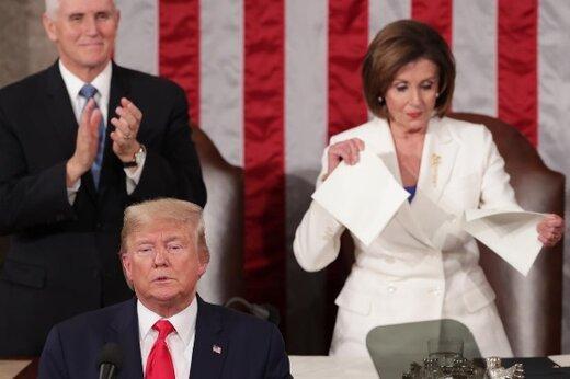 پلوسی: سخنرانی سالانه ترامپ کلکسیونی از دروغ بود ، مردم آمریکا شایسته یک رئیس جمهور باشرف هستند