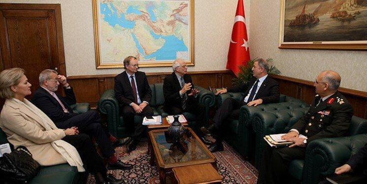 بورل در سفر به آنکارا از مقام های ترکیه چه درخواستی کرد؟