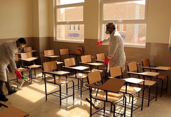 ابلاغ دستورالعمل کنترل کرونا در مدارس، مهدکودک ها و مراکز آموزشی
