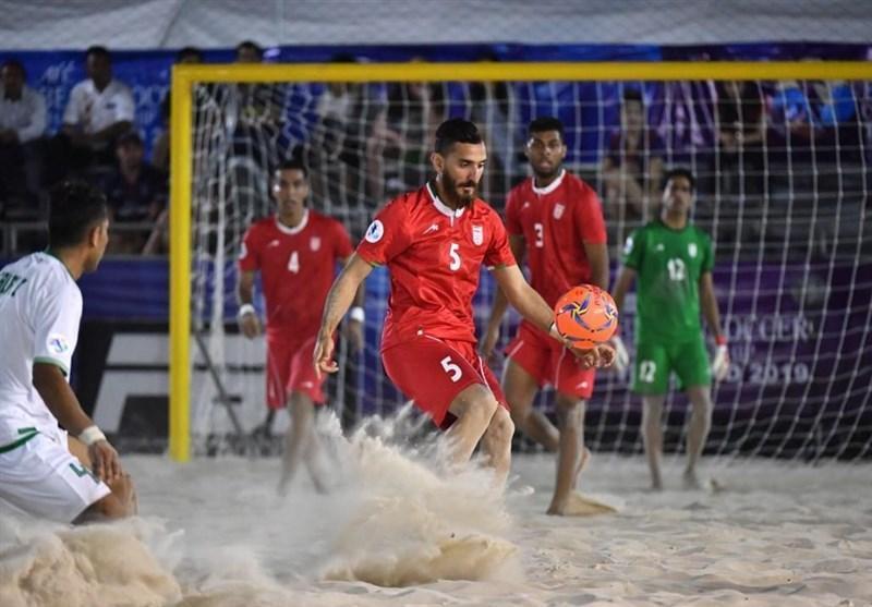 لغو رقابت های جهانی فوتبال ساحلی