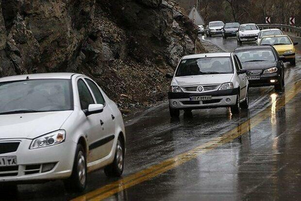 افزایش 11.5 درصدی تردد جاده ای در روز گذشته