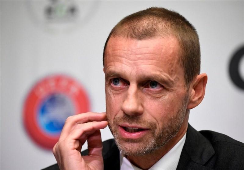 رئیس یوفا: در صورت عدم آغاز لیگ ها تا اوایل تیر، نتایج باطل می شوند