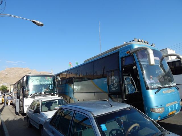 اعمال قانون برای اتوبوس هایی که در خارج از ترمینال مسافرگیری می کنند