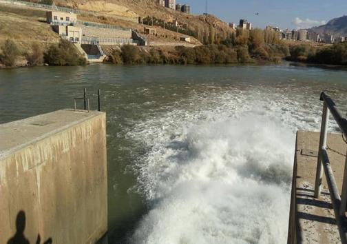 افزایش 3 میلیون متر مکعبی حجم ذخیره آب پشت سد مهاباد