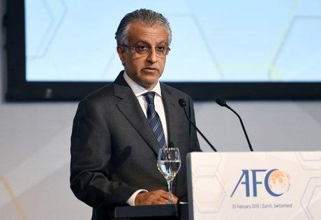 تبریک شیخ سلمان به قهرمان لیگ قطر