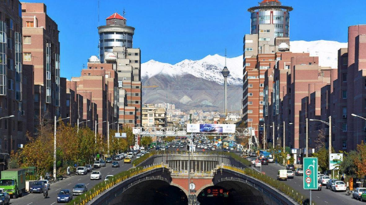 هوای تهران در آستانه ناسالمی نهاده شد