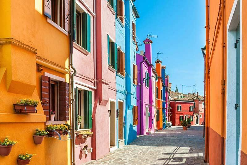 خانه های جذاب در رنگی ترین شهرهای جهان، تصاویر