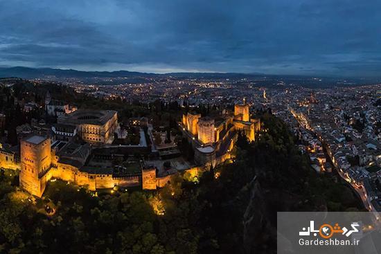 با تور مجازی از کاخ الحمرا در اسپانیا دیدن کنید
