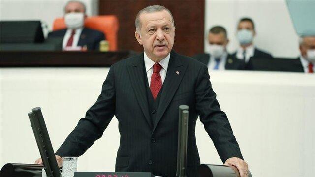 اردوغان خطاب به مکرون: تست سلامت عقل بده