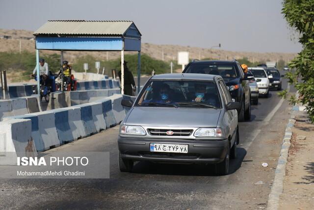 برپایی دو ایستگاه ممنوعیت سفر به هرمزگان در حاجی آباد