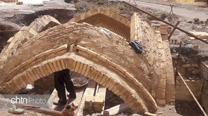 سرانجام عملیات بازسازی حمام تاریخی روستای وانشان در گلپایگان