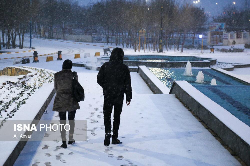 باران در اغلب مناطق کشور، یخ بندان در 8 استان