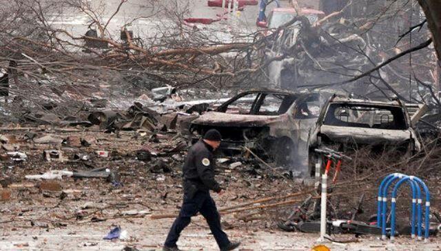 خبرنگاران کریسمس با طعم تلخ انفجار در شهر نشویل آمریکا