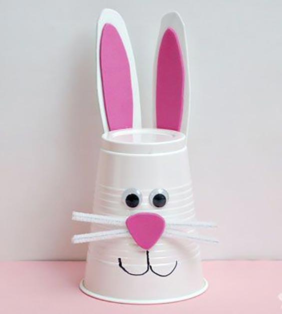 آموزش ساخت کاردستی خرگوش با وسایل ساده و دور ریختنی