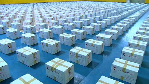 توزیع 1100 بسته معیشتی در آذربایجان شرقی