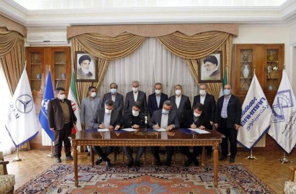 تفاهم نامه فعال سازی ظرفیت های صنعت خودروسازی استان امضا شد