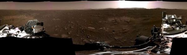 انتشار اولین تصویر پانورامای استقامت از مریخ