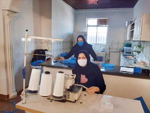 دختران توانای خیاط خانه (