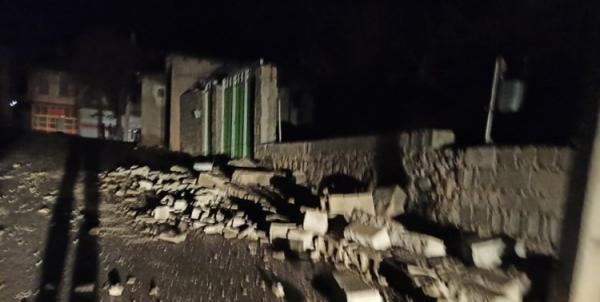 (تصاویر) خسارت های زلزله به بزرگی 5.6 در سی سخت در کهگیلویه و بویراحمد