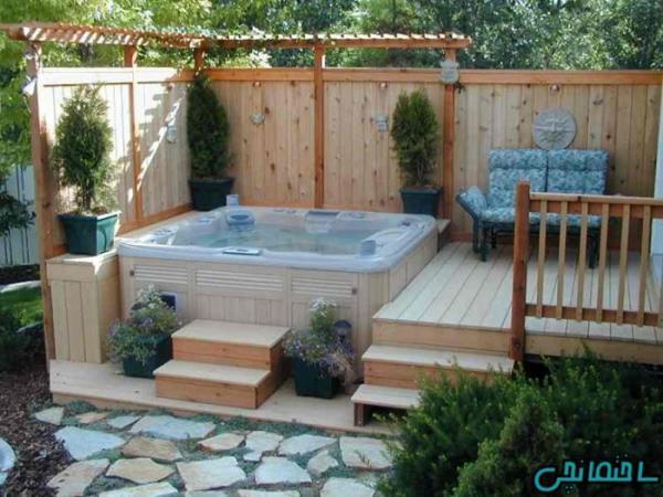 نکات مهم در طراحی حمام روباز