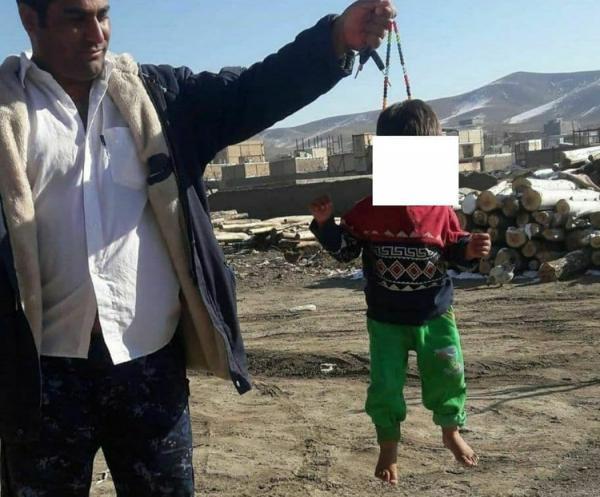 کودک آزار دیده با تسبیح با دستور قاضی از خانه امن ترخیص شد