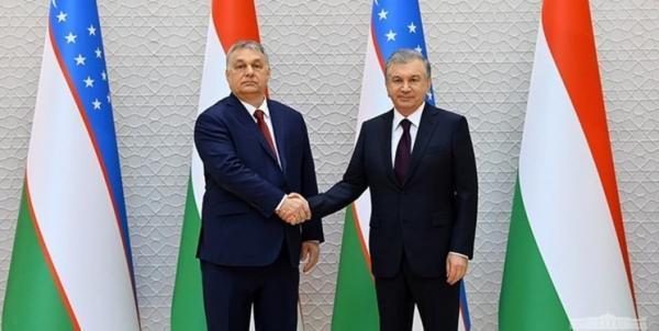 توافق میرضیایف و نخست وزیر مجارستان در مورد تحکیم همکاری های بلندمدت