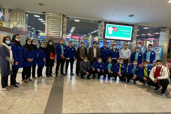 کاروان وزنه برداری ایران راهی ازبکستان شد