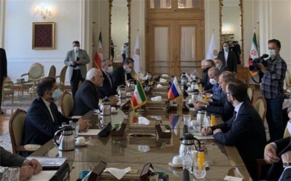 شروع گفت و گوی وزرای خارجه ایران و روسیه