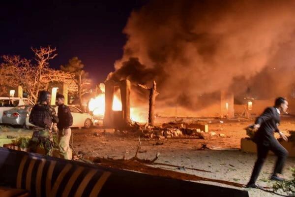 انفجار در یک هتل در جنوب پاکستان، 4 تن کشته و 11 تن زخمی شدند