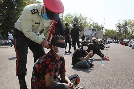 دستگیری 380 دزد و زورگیر ، کشف 450 قبضه سلاح در صاعقه 7